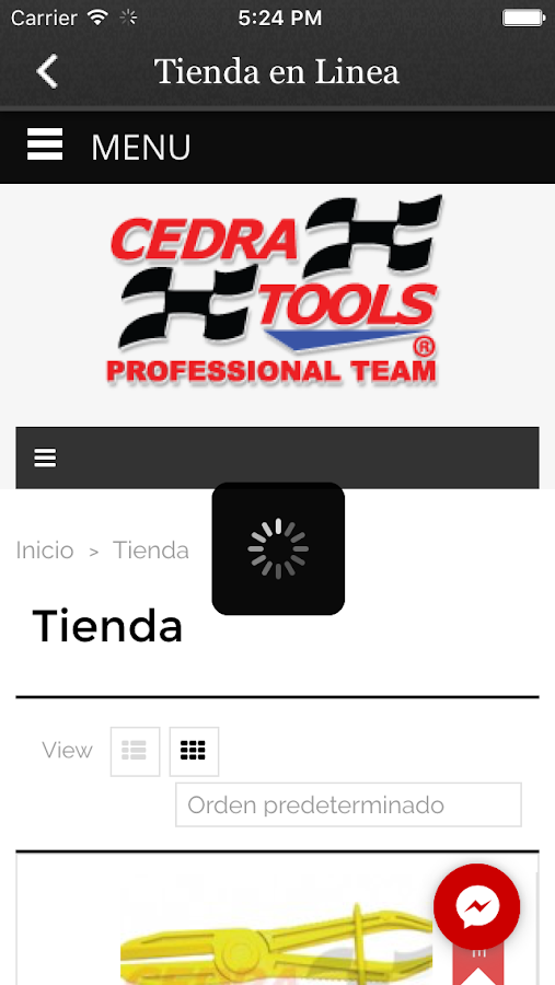 Cedra Tools: captura de pantalla