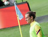Antoine Griezmann et Ousmane Dembélé ont repris l'entraînement avec le Barça