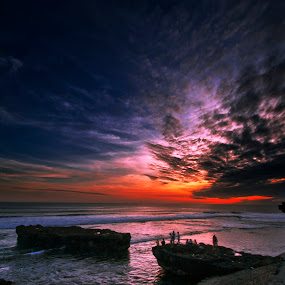 Look Up by Frans Widi - Landscapes Cloud Formations