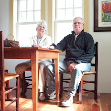 Photo: title: Daryl & Peter Ellef, Wells, Maine date: 2010 relationship: friends, family, aunt&uncle, met through Lucky Hollander years known: 35-40