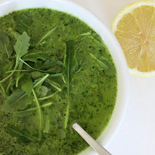 Broccoli and Arugula Soup Recipe