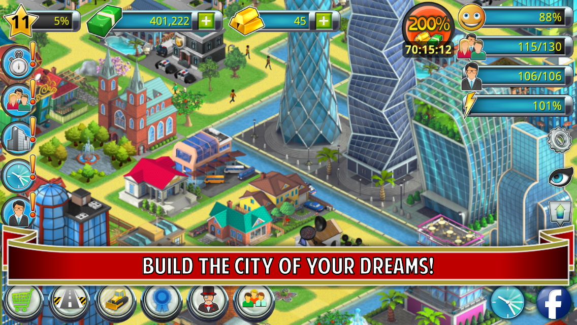 City Island 2 - Building Story: Sim Town Builder (Android) reviews