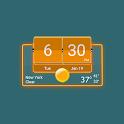 3D Flip Clock Theme Pack 05 icon