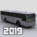 Bus Parking 3D icon