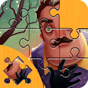 Puzzle For Hi Neighbor Alpha 4 icon