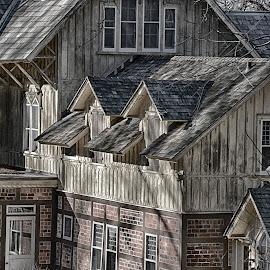 Victorian Detail  by Lorraine D.  Heaney - Buildings & Architecture Architectural Detail