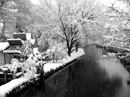 Prima neve a Cernusco di Giubar