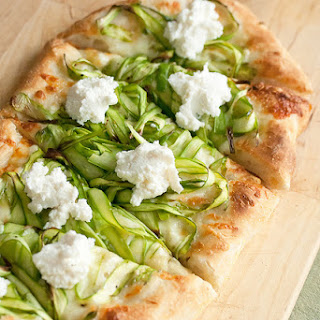 Shaved Asparagus Pizza Recipe