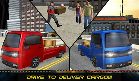 Mini Driver Truck Transport 3D 1.0.1 screenshot 62144