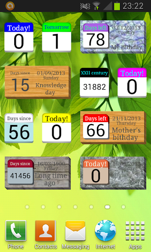 Days  Left (countdown timer)  Wallpaper 1