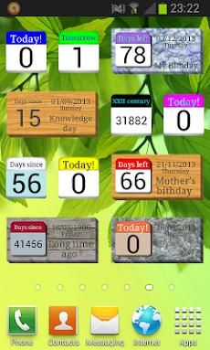 カレンダーカウンタのおすすめ画像1