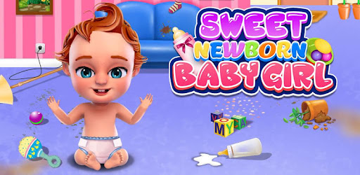 Приложения в Google Play – <b>Sweet</b> Newborn <b>Baby</b> Girl: Daycare ...