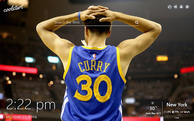 Stephen Curry HD Wallapepers NBA Theme