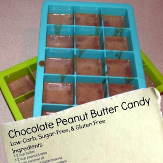 Sugar-Free Peanut Butter Chocolate Candy
