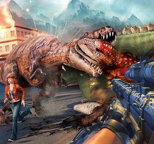 Dino Hunter Sniper 3d: Dinosaur Free FPS Shooting apkdebit screenshots 11