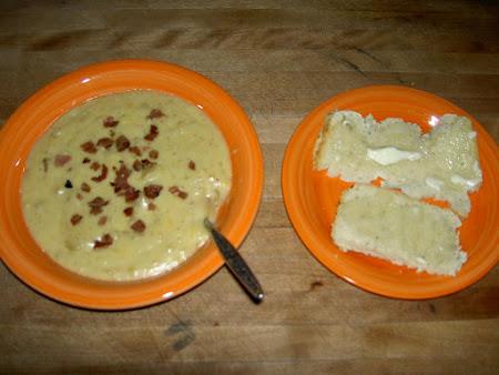 Slow Cooker Cheesy Bacon Potato Soup Recipe