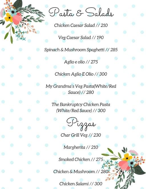 Marzipan Cafe & Bakery menu 3