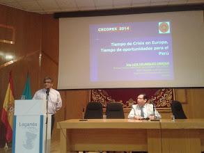 Photo: Recibimos la especial visita de nuestro Consejero Delegado de REIP PAIS VASCO, Ing. CIP Junin, Mecánica, Luis Velasquez Orrego procedente de Bilbao.