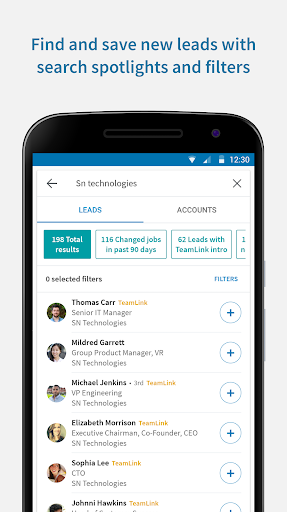 LinkedIn Sales Navigator 4.5.3 screenshots 3