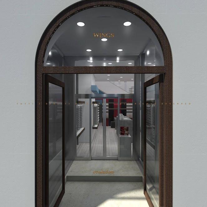 cửa vòm cổ điển