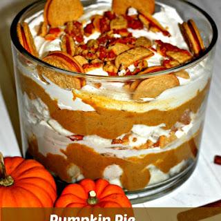 Pumpkin Pie Trifle.