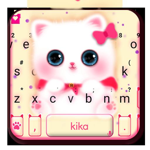 Kawaii Kitty Cute Cat Keyboard Theme Icon