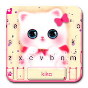 Free Download Kawaii Kitty Cute Cat Keyboard Theme APK for Samsung