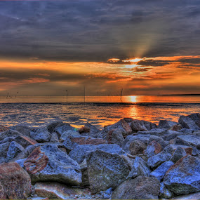 When Day in the end by Sham Cool - Landscapes Sunsets & Sunrises ( lanscape )