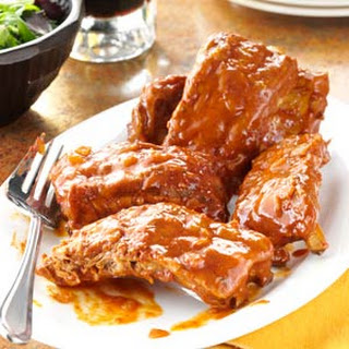 Slow & Easy Baby Back Ribs.