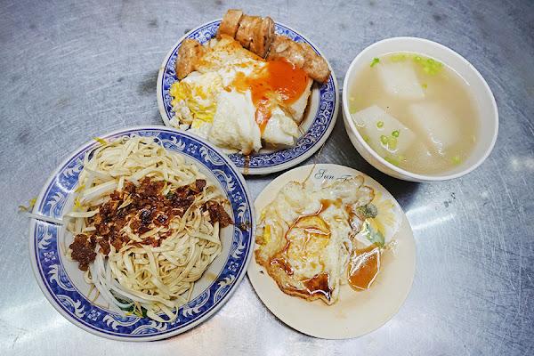 台中第二市場 | 阿嬤a相思麵店,平價古早味,招牌白乾麵 雙醬享受!!