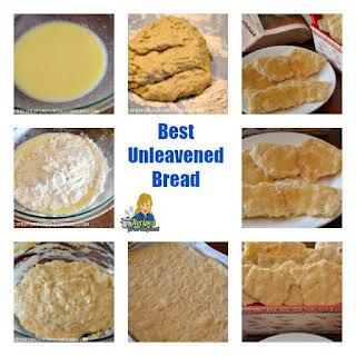 Unleavened Communion Bread.