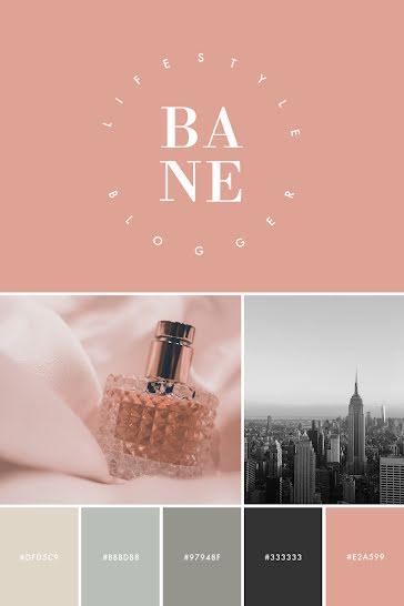 Bane Brand Inspiration - Brand Board Template