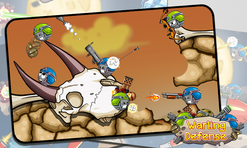 Warlings Defense : Armageddon- screenshot