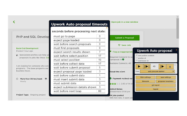 Upwork Auto proposal (Enterprise Level)