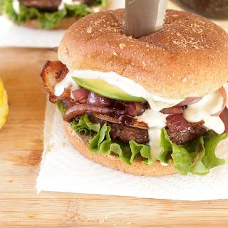Gorgonzola Bacon Burger
