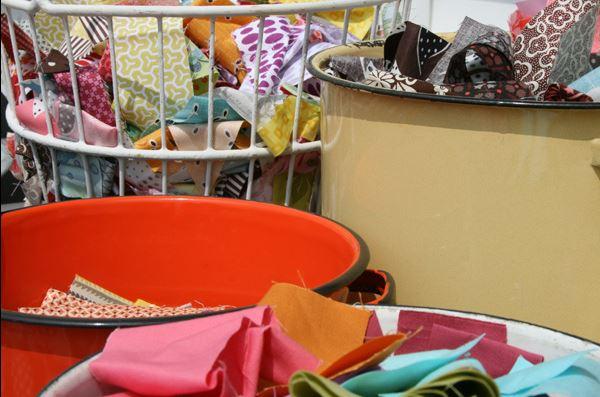 Organizing Scrap Fabrics