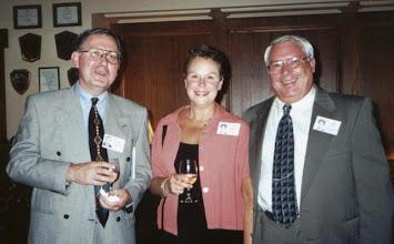 Photo: Dan Madrano, Susan (Granrath) Quist, Bob Knol