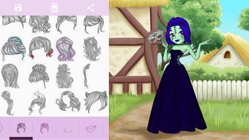 Avatar Maker: Monster Girls screenshot 11