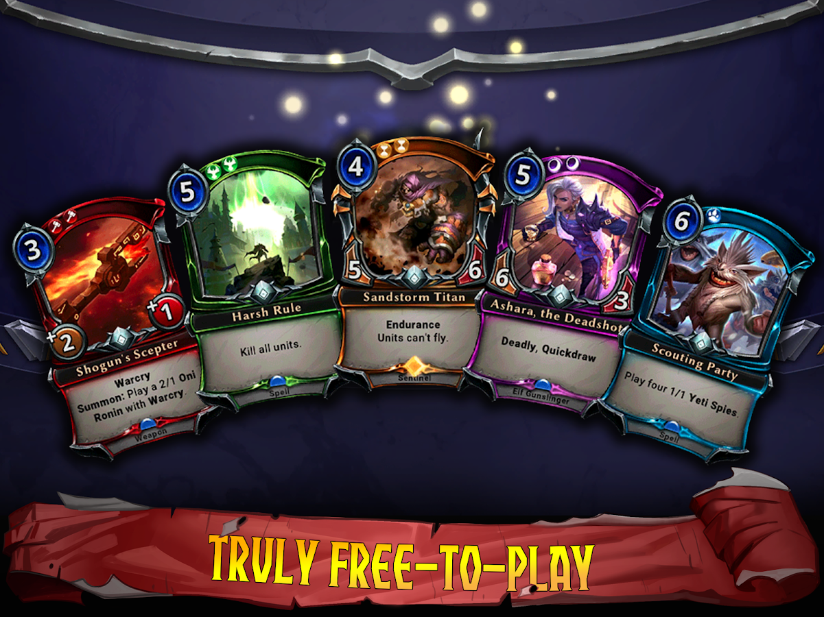 Eternal Card Game- screenshot