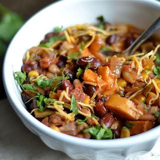 Instant Pot Vegetarian Chili.