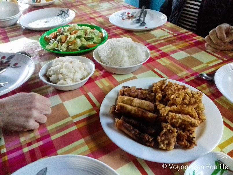Maligcong, diner chez Suzette