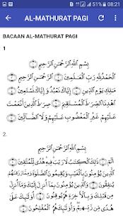 Al-Mathurat Pagi & Petang Lengkap - náhled