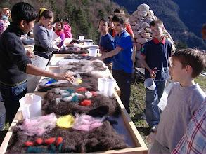 Photo: tanti bambini....tanti tappetini