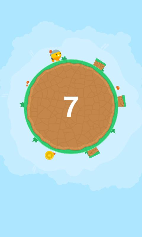 Circle Run And Jump - στιγμιότυπο οθόνης