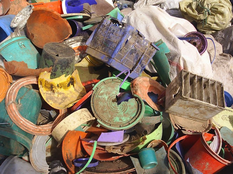 Photo: plastic buckets