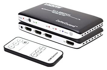Buy Zettaguard ZW310 4K x 2K 3 Port High-Speed 3 x 1 HDMI Switch with PIP  and IR Wireless Remote Control Online at Low Prices in India - Amazon.in