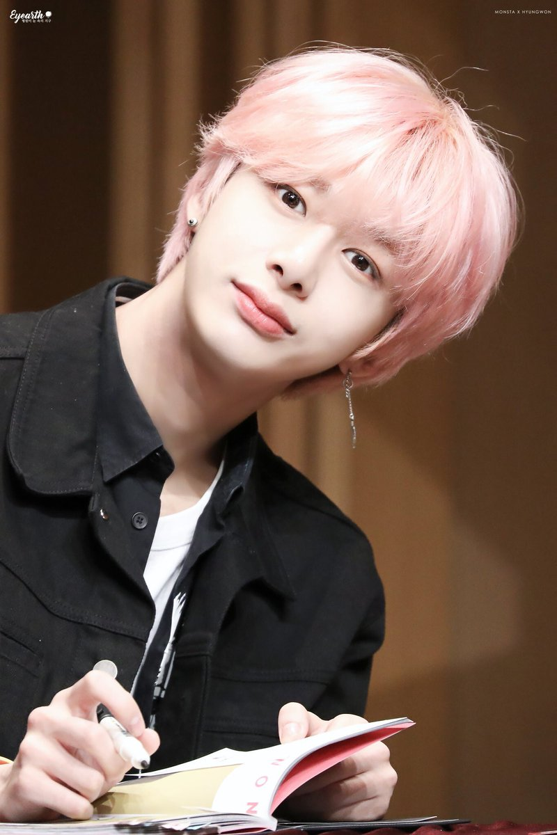 monsta x hyungwon
