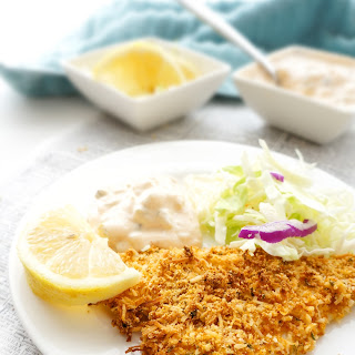 Almond & Coconut Crusted Fish Sticks
