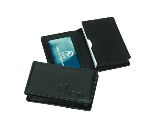 Promotional Leather Business Card Holder