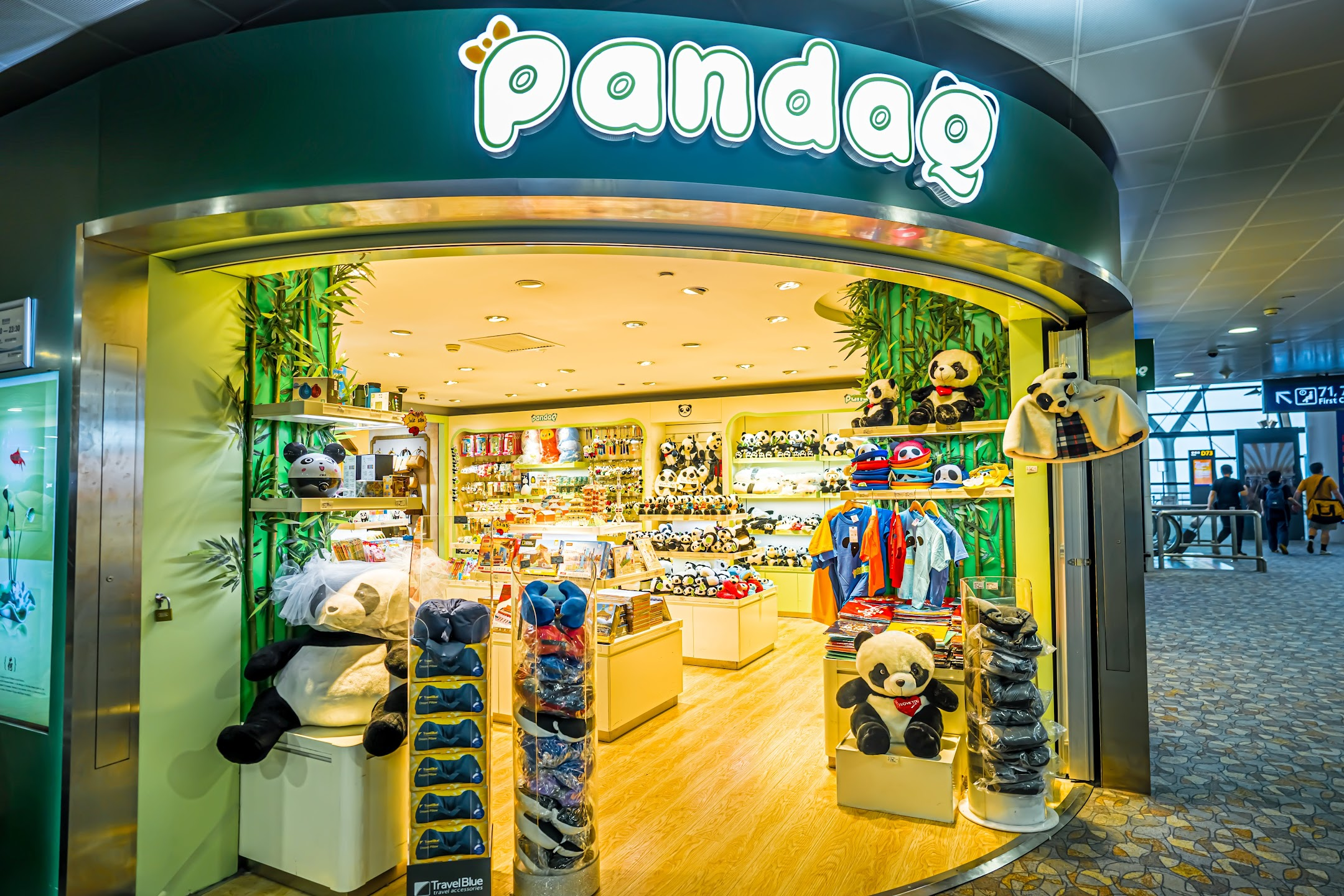 Shanghai Pudong International Airport Panda1